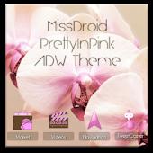 MissDroid PrettyPink ADW Theme