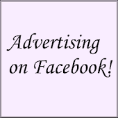 Advertising on Facebook!