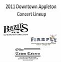 2011 Downtown Concert Lineup logo