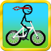 Stickman Racing Bike Stunts