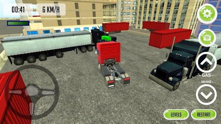 Truck Parking 3D 2015 - screenshot