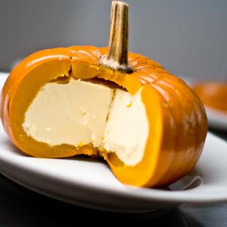 "Crustless Milk And Cardamom ""pumpkin Pie""."
