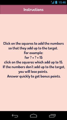 【免費解謎App】Add Like Mad - The Number Game-APP點子