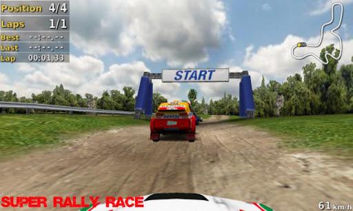 Super Rally Race 3D