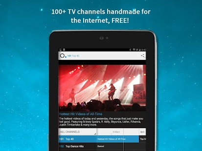 Pluto TV: TV for the Internet - screenshot thumbnail