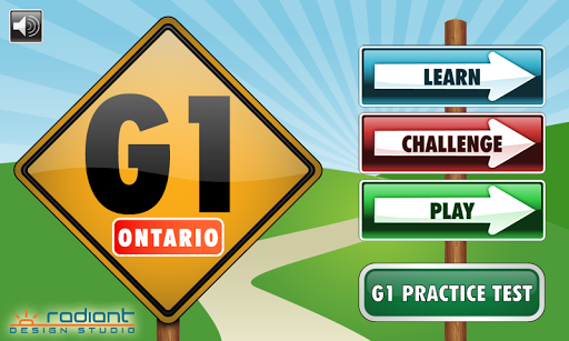 G1 Ontario Driving Test 2014