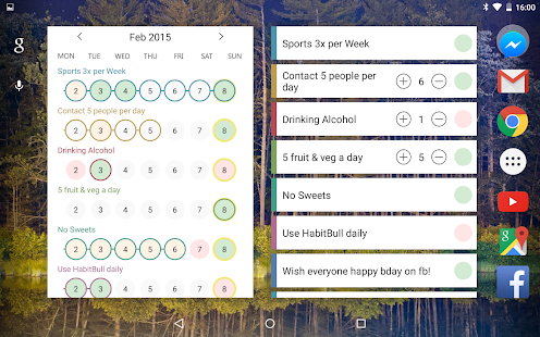 HabitBull - Habit Tracker Screenshot
