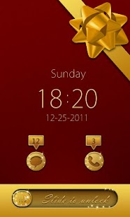 Christmas Theme GO Locker - screenshot thumbnail