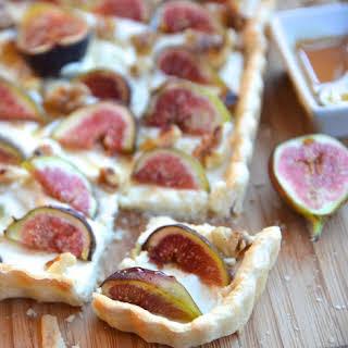 Fig & Walnut Tart.