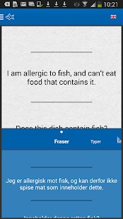 Allergy Phrasebook - screenshot thumbnail