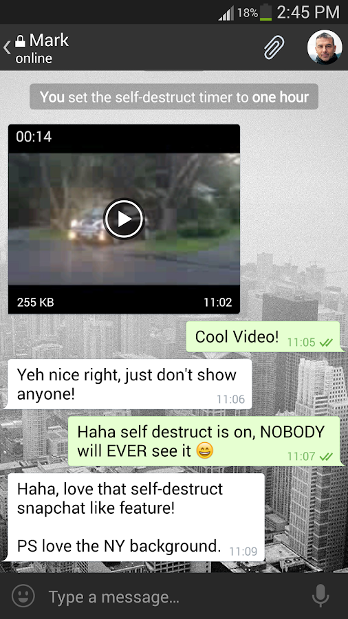 Telegram X - screenshot