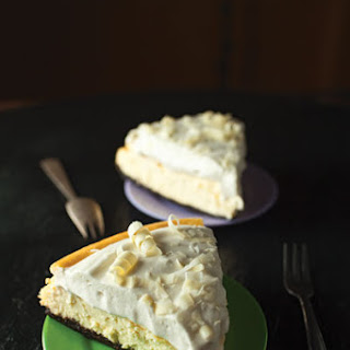Smoked Coconut Cheesecake
