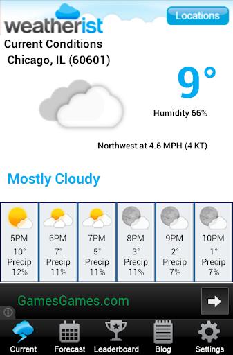 【免費天氣App】Weatherist-APP點子