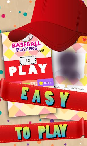 Baseball Player Trivia Quiz