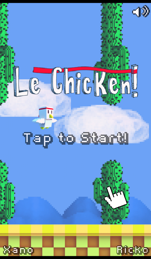 Le Chicken - Tap Game- screenshot