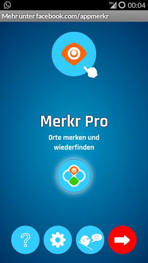 Merkr Pro GPS Standort merken