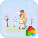 The first snow Dodol Theme icon