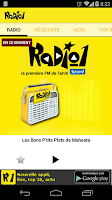 Screenshot of Radio 1 Tahiti