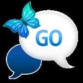 GO SMS - Midnight Blue Sky