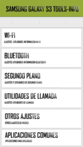 Galaxy SIII Info-Tools