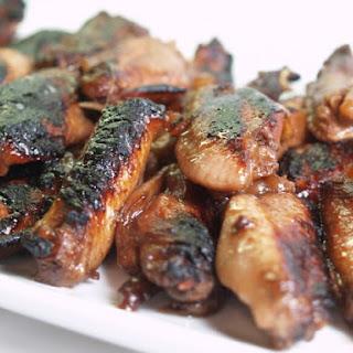 Slow Cooker Blackberry Chicken Wings