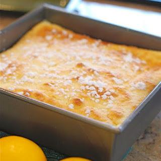 Meyer Lemon Pudding Cake.