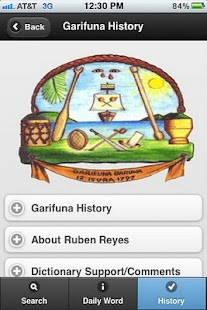 Garifuna-English Dictionary- screenshot thumbnail