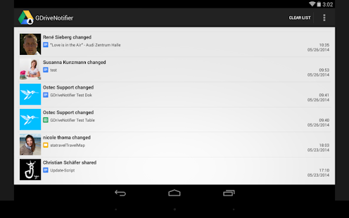 Google Drive Notifier