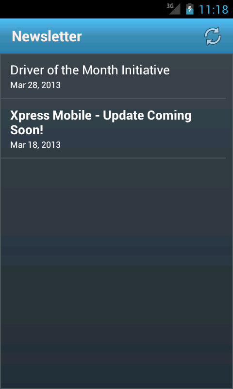 Xpress Mobile - screenshot