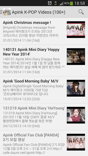 Apink K-POP Videos