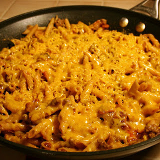 Bacon Cheeseburger Pasta.