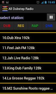 Dubstep radio Reggae radio - screenshot thumbnail
