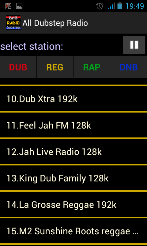 Rap radio Hip Hop radio - screenshot