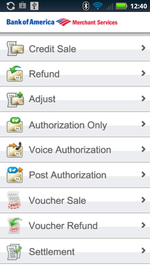 Mobile Pay - screenshot