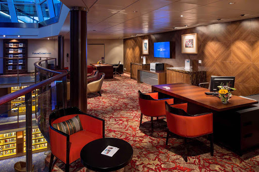 Celebrity_Reflection_FutureCruise - There's no shortage of spaces for you to rest, work or play during your cruise on Celebrity Reflection.