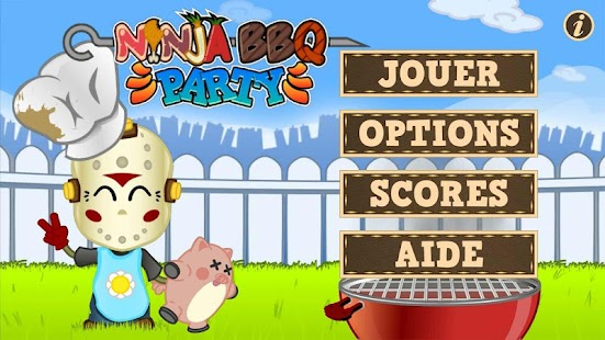 Ninja Barbecue Party App - screenshot thumbnail