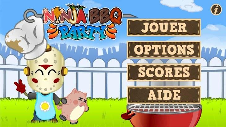 Ninja Barbecue Party App screenshot