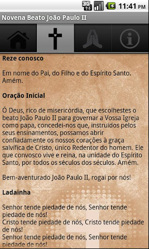Novena Beato João Paulo II