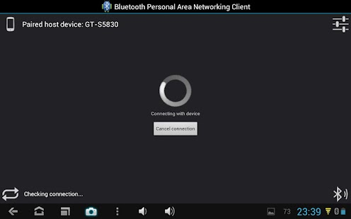 Bluetooth PAN for Root Users- screenshot thumbnail