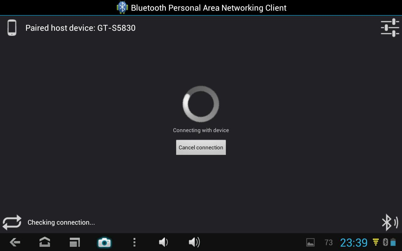 Bluetooth PAN for Root Users- screenshot