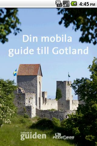 Gotland– skärmdump