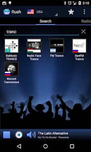 RUSH online radio and TV Screenshot 4