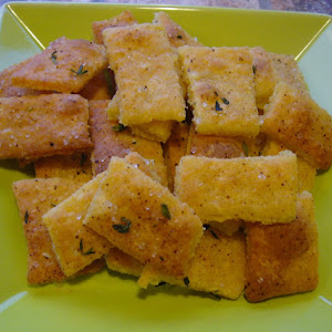 Fleur de Sel and Thyme Crackers