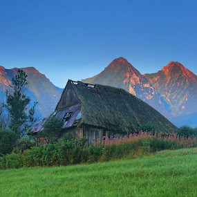 Belianske Tatras by Matej Kováč - Landscapes Mountains & Hills ( , abandoned, building )