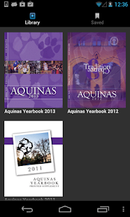 Aquinas Yearbook - screenshot thumbnail