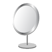 Mirror with Night Light mode