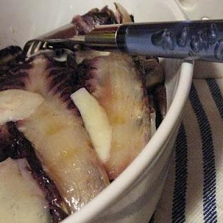Grilled Radicchio Layers with Pienza Pecorino Cheese