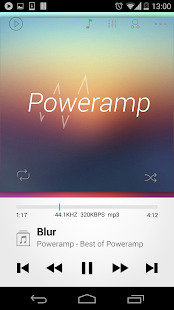 Poweramp skin 2in1 - screenshot thumbnail