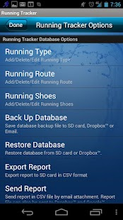 Running Tracker - screenshot thumbnail