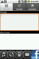 Screenshot of Morse Coder